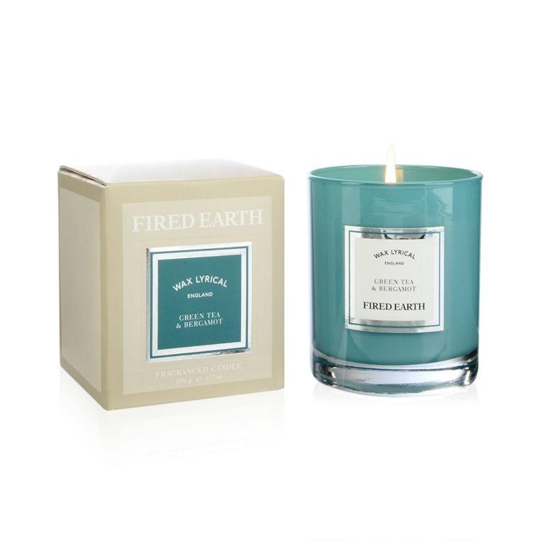 Wax Lyrical Candle, Green Tea & Bergamot FE0202