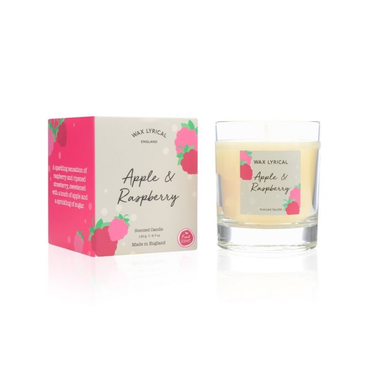 Wax Lyrical Candle - Apple & Raspberry