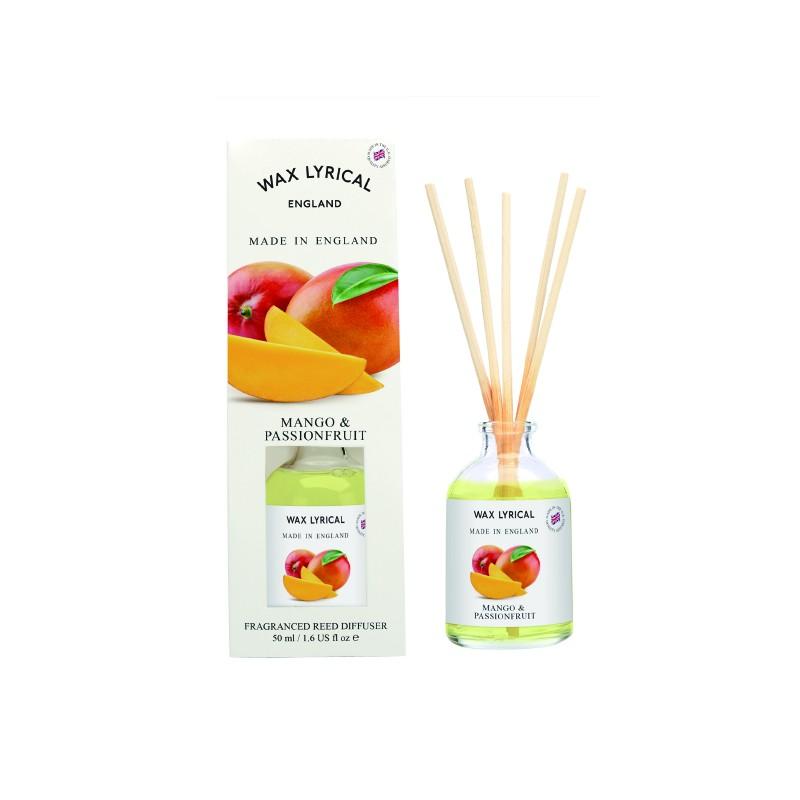 Wax Lyrical Reed Diffuser, 100ml Mango & Passionfruit