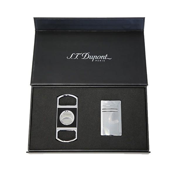 Aansteker Maxijet  Sigarenknipper S.T. Dupont Gift Set