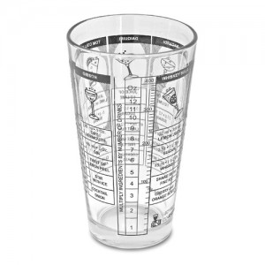 Pedrini Cocktail Accessories Tempered Mixing Glass 10oz