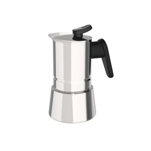 Pedrini Coffee Maker STEEL INOX-CAFFETTIERA 2TZ