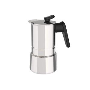 Pedrini Coffee Maker STEEL for 4 Cups