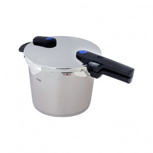 a Fissler vitaquick Pressure Cooker 6 litre Stainless Steel Induction