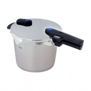 a Fissler vitaquick Pressure Cooker 8 litre Stainless Steel Induction