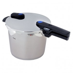 a Fissler vitaquick Pressure Cooker 10 litre Stainless Steel Induction