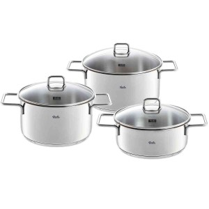 Fissler munich 6 piece Stainless-steel Cookware Set
