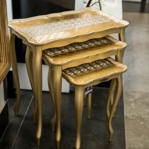 Sezzatini a Three Table Set Da Vinci