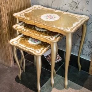 Sezzatini A Three Table Set Dafne