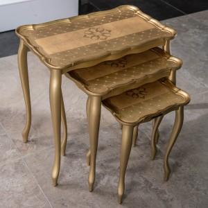 Sezzatini A Three Table Set Calfucci