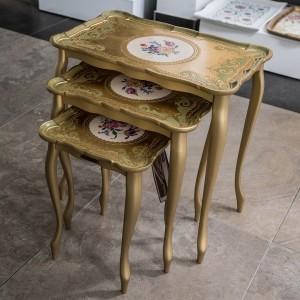 Sezzatini A Three Table Set Galatea
