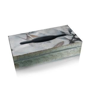 Sezzatini Tissue box cover handmade Kleenex holder wooden box