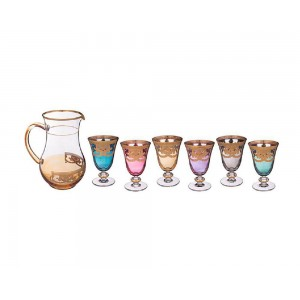 Art decor s.r.l. Set for crystal water (Jug and glasses)