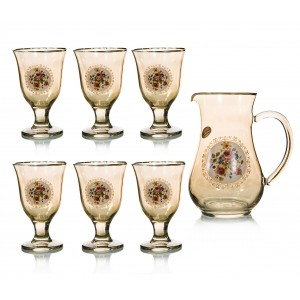 Art Decor S.R.L. Set Of 7 (Jug And Glasses)