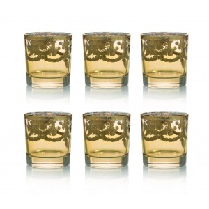 Art Decor s.r.l. gold glass set of 6