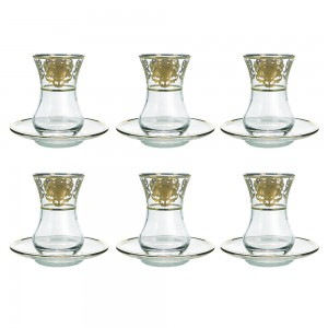 Art Decor a Tea Hasen Set of 6 A3359