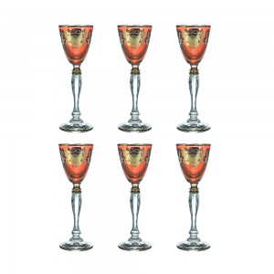 Art Decor a Liquore Vanessa Set of 6 A3454