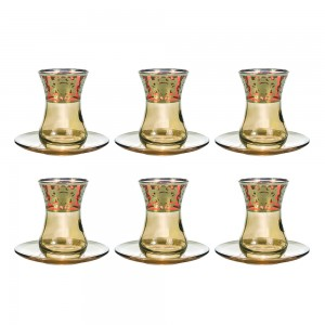 Art Decor a Tea Hasen Positano Set of 6 A3455