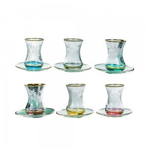 Art Decor a Tea Hasen Uva 6 Colors Set of 6 A3447