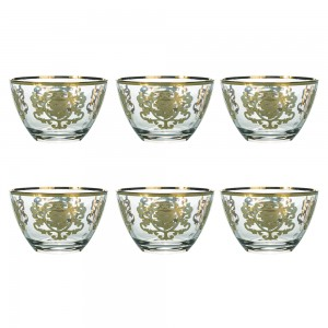 Art Decor a Coppetta Positano Set of 6 A3363