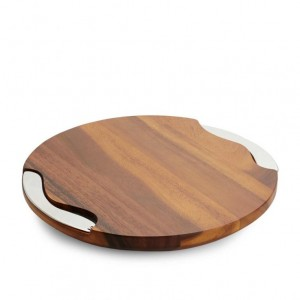 Nambe Cheese Board & Knife