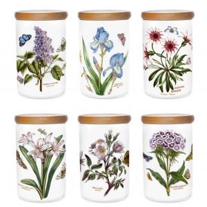 Botanic Garden Storage Jar 7 inch