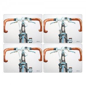 Z Pimpernel Bicycle Placemats Set of 4
