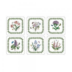 Botanic Garden Coasters Set of 6