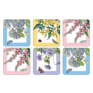 Botanic Garden Terrace Coasters Set of 6