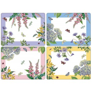 Botanic Garden Terrace Placemats Set of 4