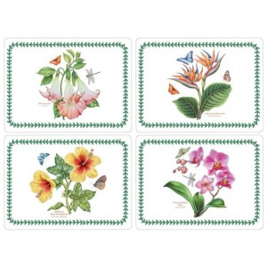 Botanic Garden Placemats Set Of 4