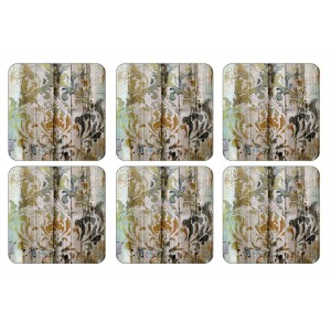 Z Pimpernel Frozen in Time Coasters Set of 6
