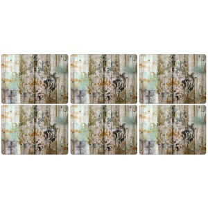 Z Pimpernel Frozen in Time Placemats Set of 6