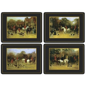 Tally Ho Placemats Set of 4