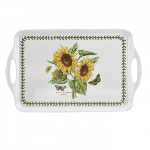 Botanic Garden Handled Tray - Sunflower