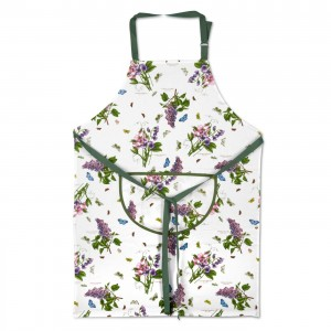 Botanic Garden Full Pattern Cotton Apron