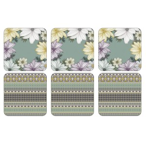 Pimpernel Atrium Coasters Set of 6