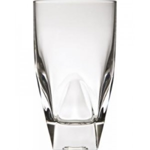 Lorren Home Trend Diamonte Lead-Free Crystal Highball Glass Set Of 6 (Set Of 6 Highball)/ Clear