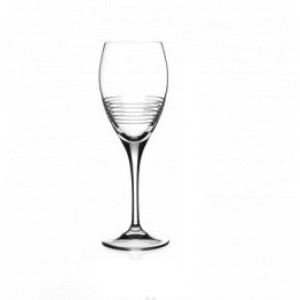 RCR Break Line Water Crystal Glass - 30 cl