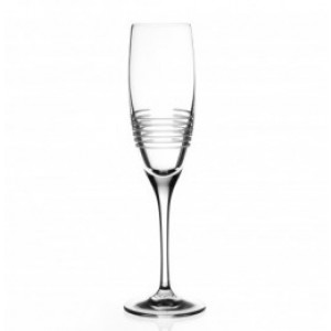RCR Break Line Champagne Crystal Glass - 19 cl