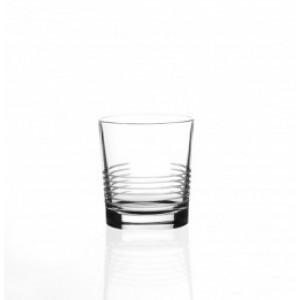 RCR Break Line Whisky DOF Crystal Glass - 33 cl