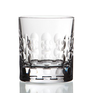 RCR BUBBLE DA VINCI Old Fashioned CRYSTAL Glass set of 2 - 29 cl