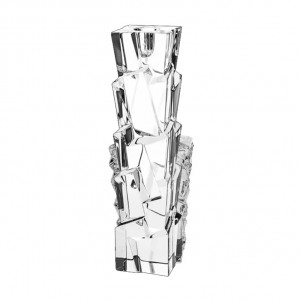 Bohemia Glacier Crystal Candle Holder 30 cm