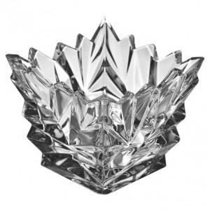 Bohemia Glacier Crystal Candle Holder 9 cm