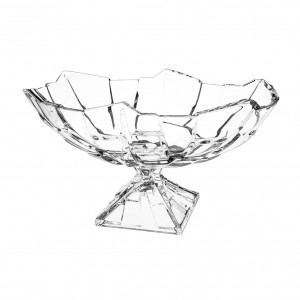 Bohemia Sydney Crystal Oval Footed Bowl