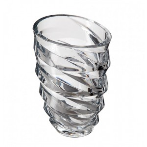 Bohemia Dynamic Crystal Vase Non-Lead 30 cm