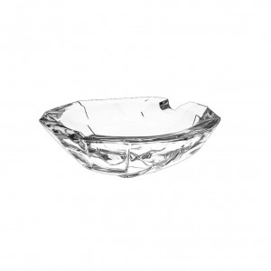Bohemia Crack Crystal Ashtray 15.25 cm