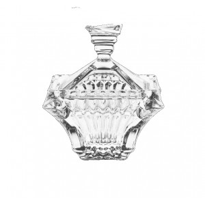 Bohemia Prague Crystal  Bonbonaire 20 cm