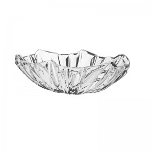 Bohemia Princess Crystal Oval Bowl 38 cm