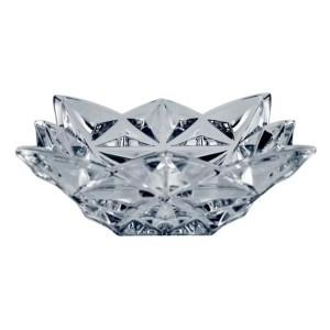 Bohemia Pyramid Crystal Small Square Bowl 10.5 cm